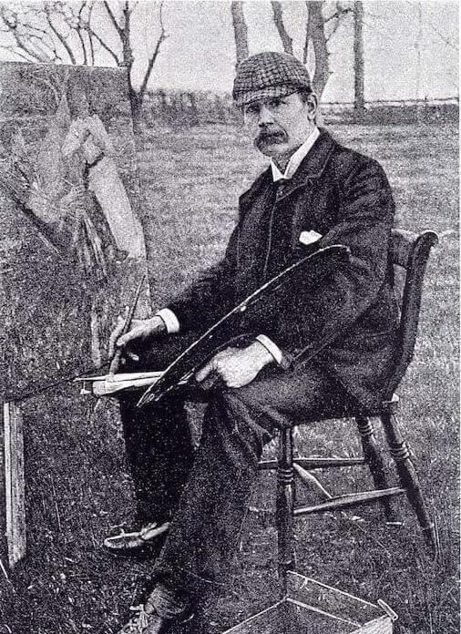 Thangue, Henry Herbert La