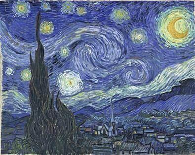 Vincent Van Gogh Starry Night artwork replica