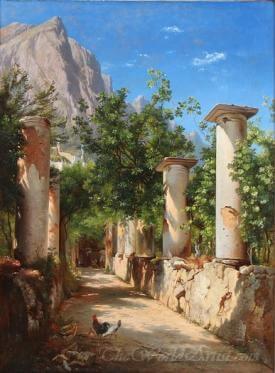 En Antikk Sojlegang Italien  (An Antique Sojlegang Italien)