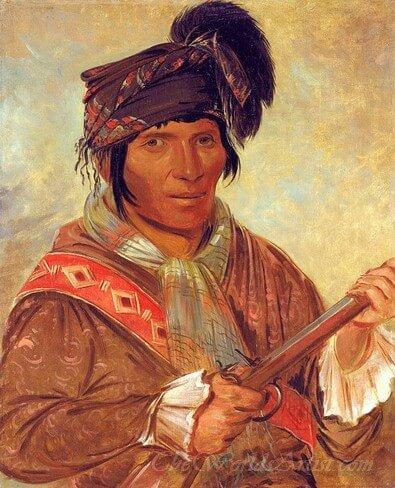 Co Ee Ha Jo A Seminole Chief