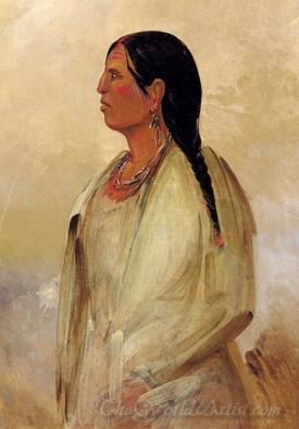 A Choctaw Woman