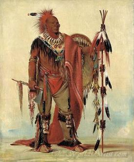 Kee O Kuk The Watchful Fox Chief Of The Tribe