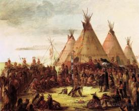 Sioux War Council