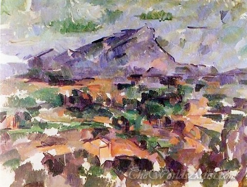 Mont Sainte Victoire 1904