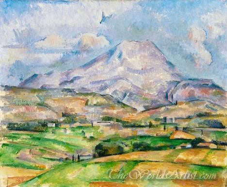 Mont Sainte Victoire 1888