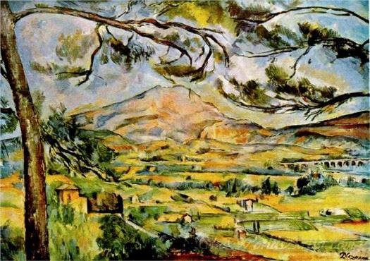 Mont Sainte Victoire 1885
