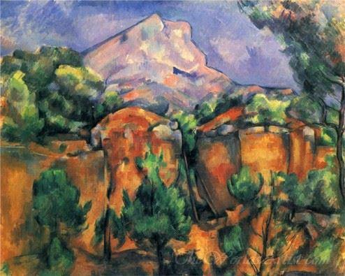 Mont Sainte Victoire 1897