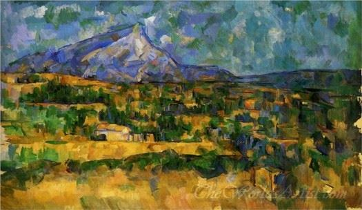 Mont Sainte Victoire 1906