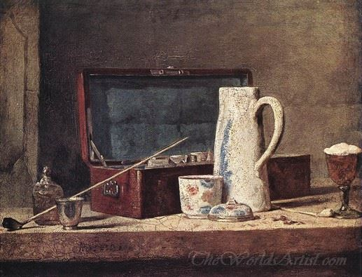 Pipes And Drinking Pitcher