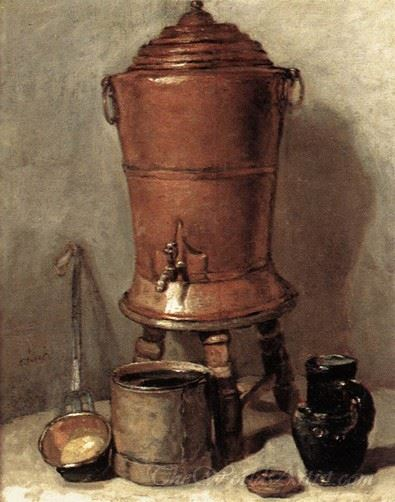 The Copper Drinking Fountain