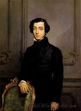 Portrait Of Alexis De Toqueville