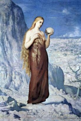Mary Magdalene At St Baume