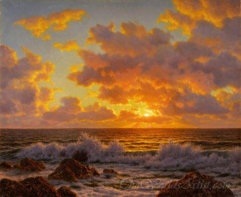 Coucher Du Soleil L Adriatique  (Sunset Adriatic)