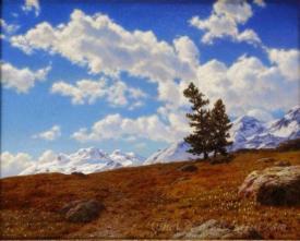 Printemps Dans Les Alpes Engadines  (Spring In The Engadine Alps)