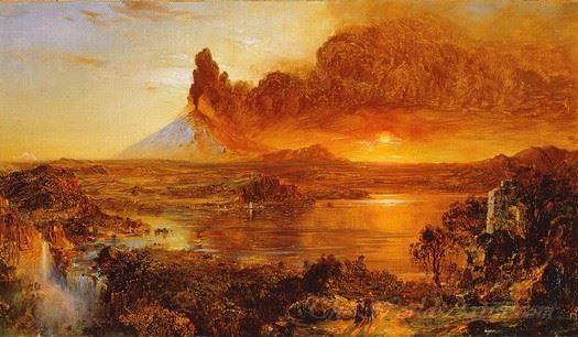 Eruption At Cotopaxi