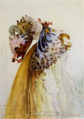 Buste De Femme De Profil  (Female From Bust Profile)