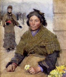 Flora The Gypsy Flower Seller