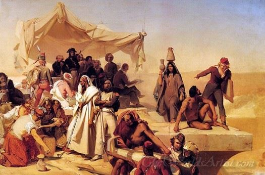 The Egyptian Expedition Under The Command Of Bonaparte