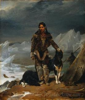 A Woman From The Land Of Eskimos