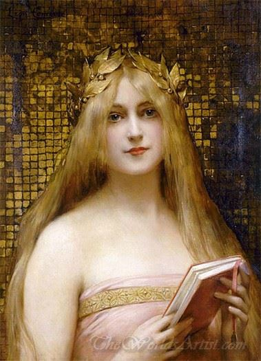 Girl With A Golden Wreath