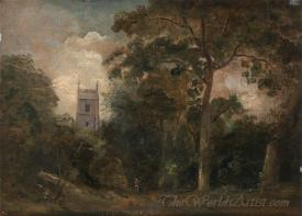 A Church In The Trees