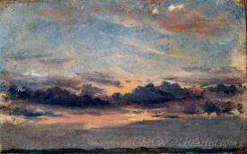 A Cloud Study Sunse