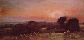 A Hayfield At East Bergholt