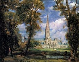 Salisbury Cathedral From The Bishops Grounds