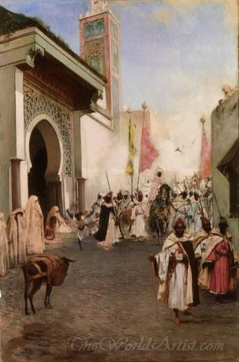 Entrance Of Mohammed Ii Into Constantinople