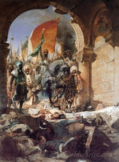 The Entrance Of Mahomet Ii Into Constantinople