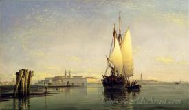 On The Lagoon Of Venice