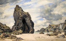 Steeple Rock Kynance Cove Lizard Cornwall