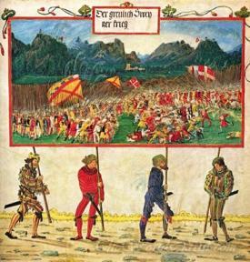 Emperor Maximilian Triumph The Swiss War