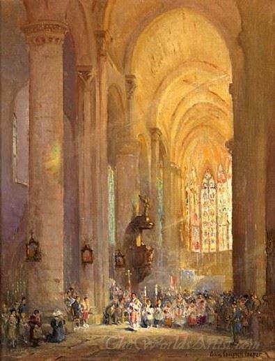 Cathedral At Carcasonne
