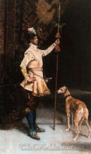 Alabardero De La Epoca De Luis Xiii  (Yeoman Of The Time Of Louis Xiii)