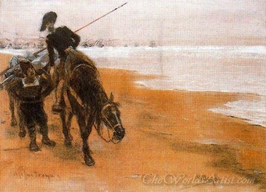Aqui Fue Troya Escena Del Quijote  (Here Was Troy Quixote Scene)