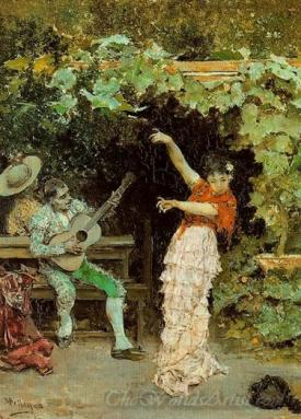 Baile Andaluz Con Emparrado  (Andalusian Dance With Vine Arbor)
