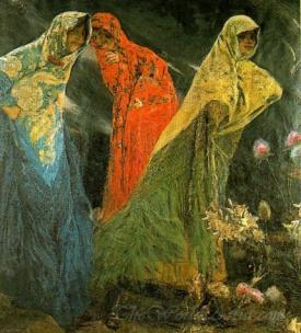 Las Parcas  (The Fates)