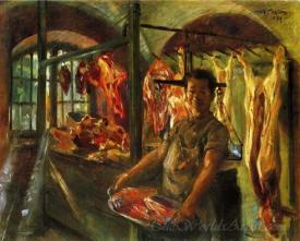 Butchers Shop At Schaftlarn An Der Isar