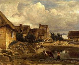 A Farmyard Near Fontainebleau