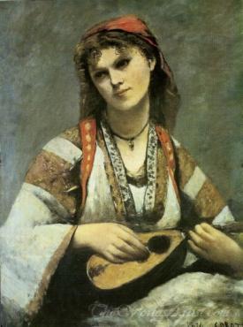 A Gitan With A Mandolin