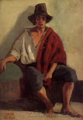 A Seated Italian
