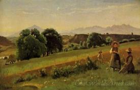 Monnetier Mornex Landscape