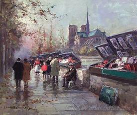 Bouquinistes De Notre Dame  (Booksellers Of Notre Dame)