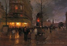 La Place De La Bastille Paris