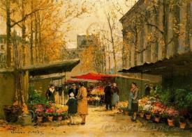 Marche Aux Fleurs La Madeleine  (La Madeleine Flower Market)