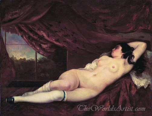 Femme Nue Couchée  (Nude Reclining Woman)