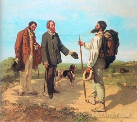 The Meeting Bonjour Monsieur Courbet