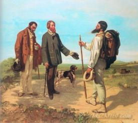 The Meeting Bonjour Monsieur Courbet