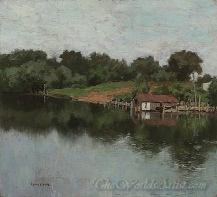 Fishing Shack On The Connecticut River